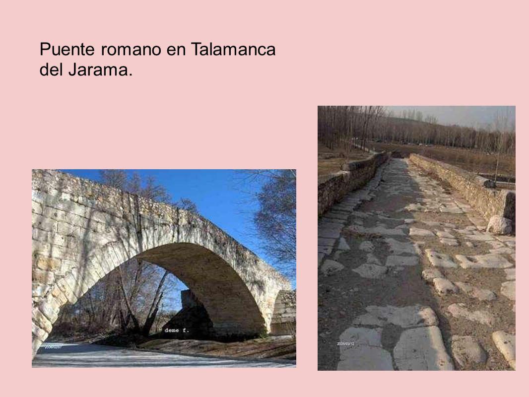 Puente romano en Talamanca del Jarama.
