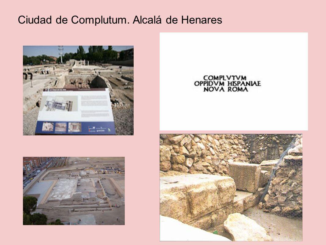 Casa Hippolytus: cerca de Alcalá de Henares.Se construyo en el siglo II d.C.