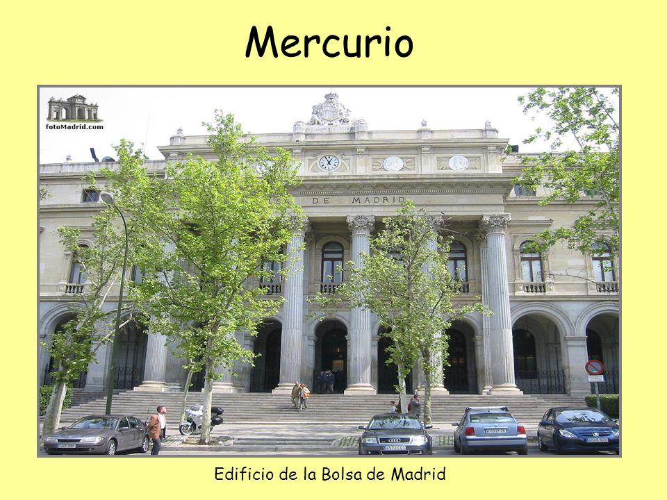 Mercurio Hermes en griego, Mercurio en latín.
