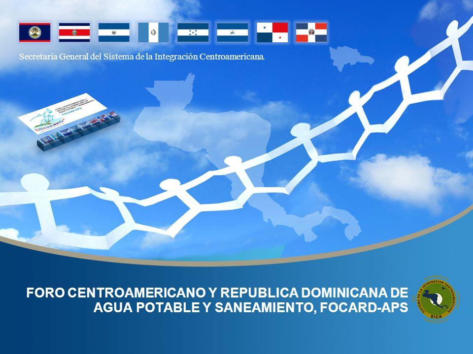 Secretaría General del Sistema de la Integración Centroamericana EL FOCARD-APS Situación del Sector de Agua Potable y Saneamiento Página No.