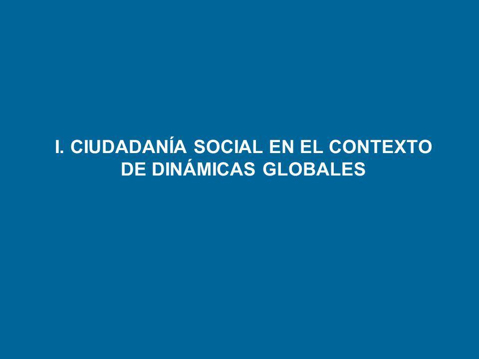 I. CIUDADANÍA SOCIAL EN EL CONTEXTO DE DINÁMICAS GLOBALES