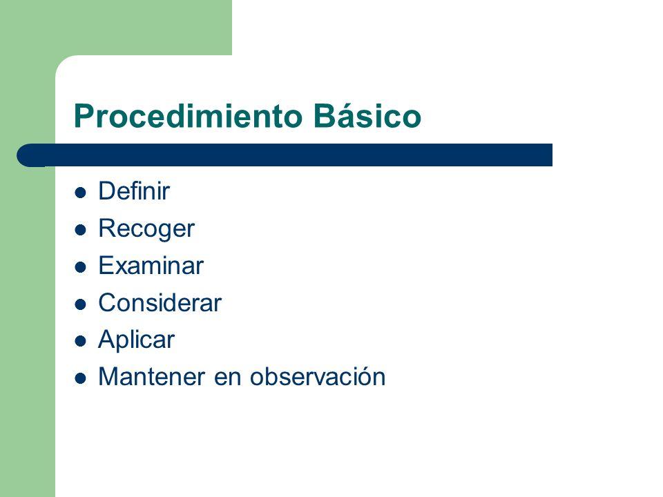 Operación Indica las principales fases del proceso, método o procedimiento.