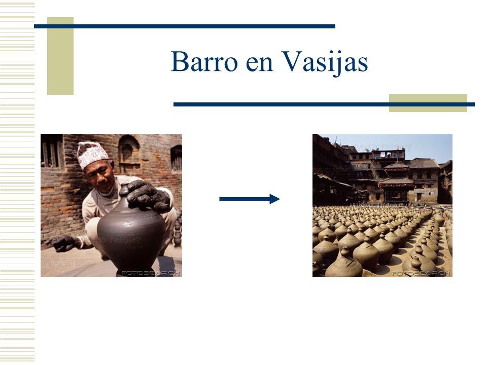 Barro en Vasijas