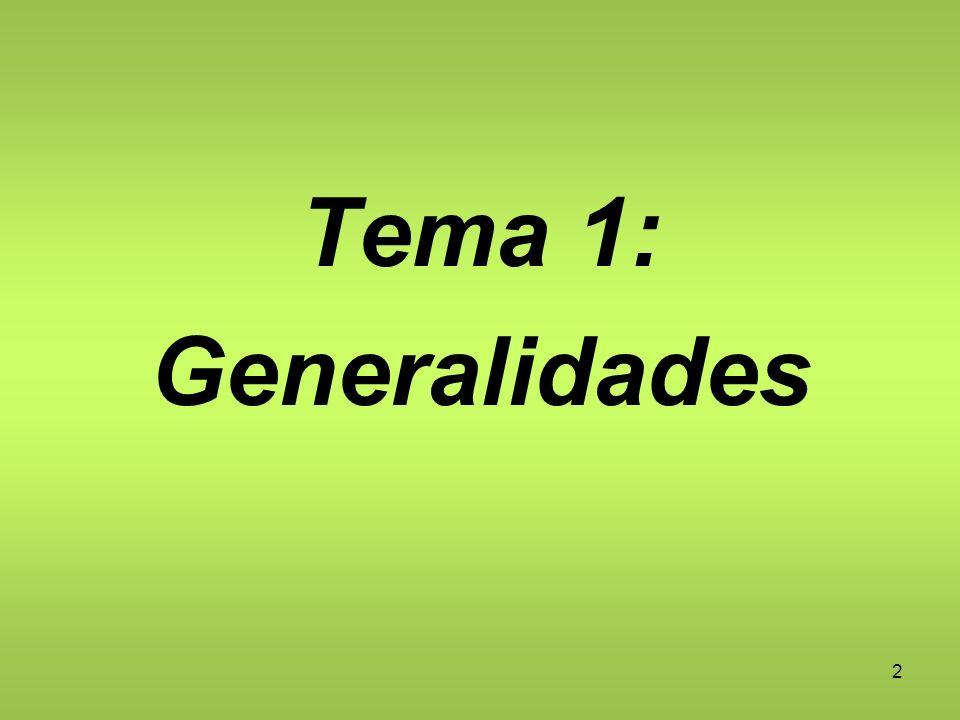 2 Tema 1: Generalidades