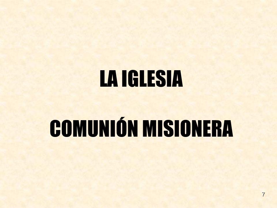 18 La Iglesia «Es sacramento o señal e instrumento de la íntima unión con Dios y de la unidad de todo el género humano» (LG 1).