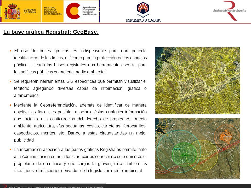 La base gráfica Registral: GeoBase.