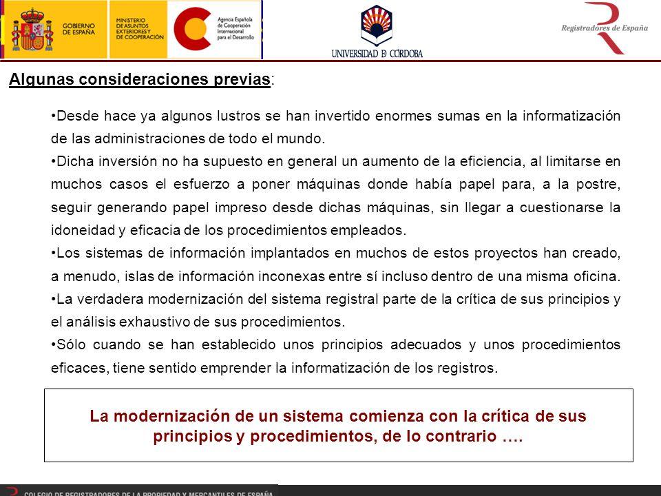 Nace en 2007 a raíz de los contactos entre el Colegio de Registradores de España y la SUNARP del Perú.