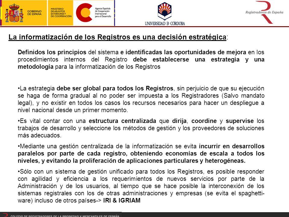 OBJETIVO: Proveer capacitación integral en materia registral (jurídica, técnica y organizativa) a los Registradores y personal de los Registros de la comunidad Iberoamericana.