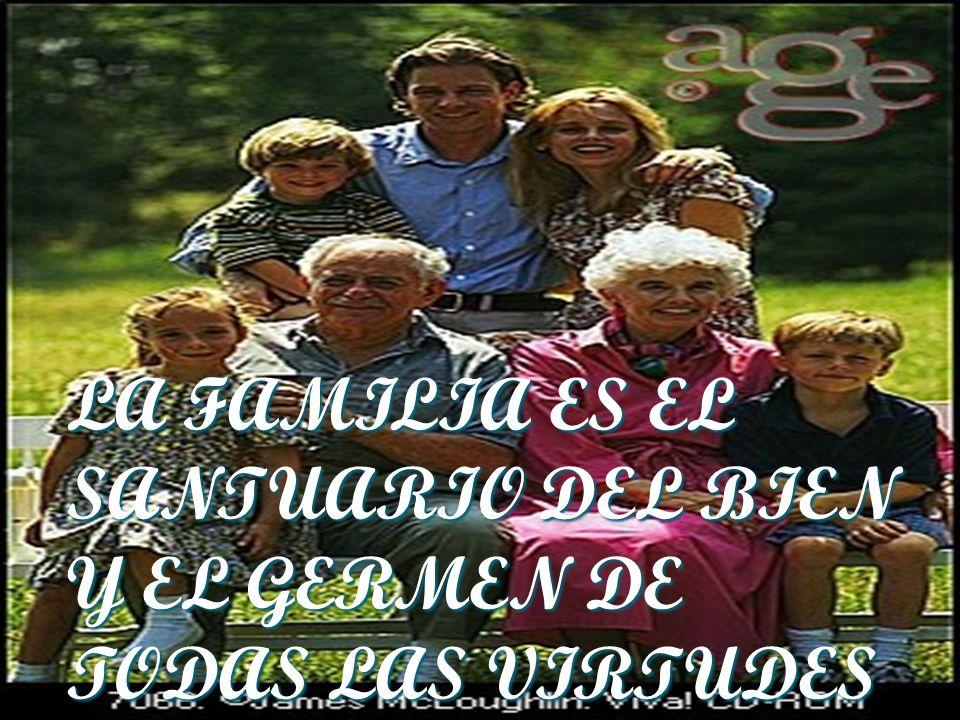 La familia, patrimonio de la humanidad, constituye uno de los tesoros más valiosos de los pueblos latinoamericanos. Ella ha sido y es espacio y escuel