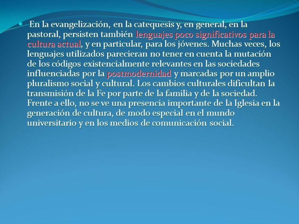 DIMENSIÓN ANTROPOLÓGICA La fidelidad al hombre latinoamericano exige de la catequesis que penetre, asuma y purifique los valores de la cultura (No 996) Que asuma además sus situaciones humanas y los acontecimientos de su vida (No 997)
