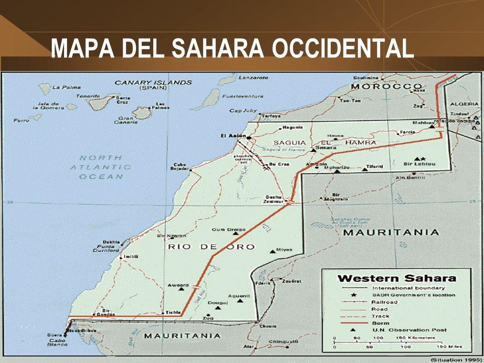 Contexto socio cultural Saharaui El Sahara occidental. Los campamentos de refugiados. retos para la participación de las mujeres El empoderamiento de