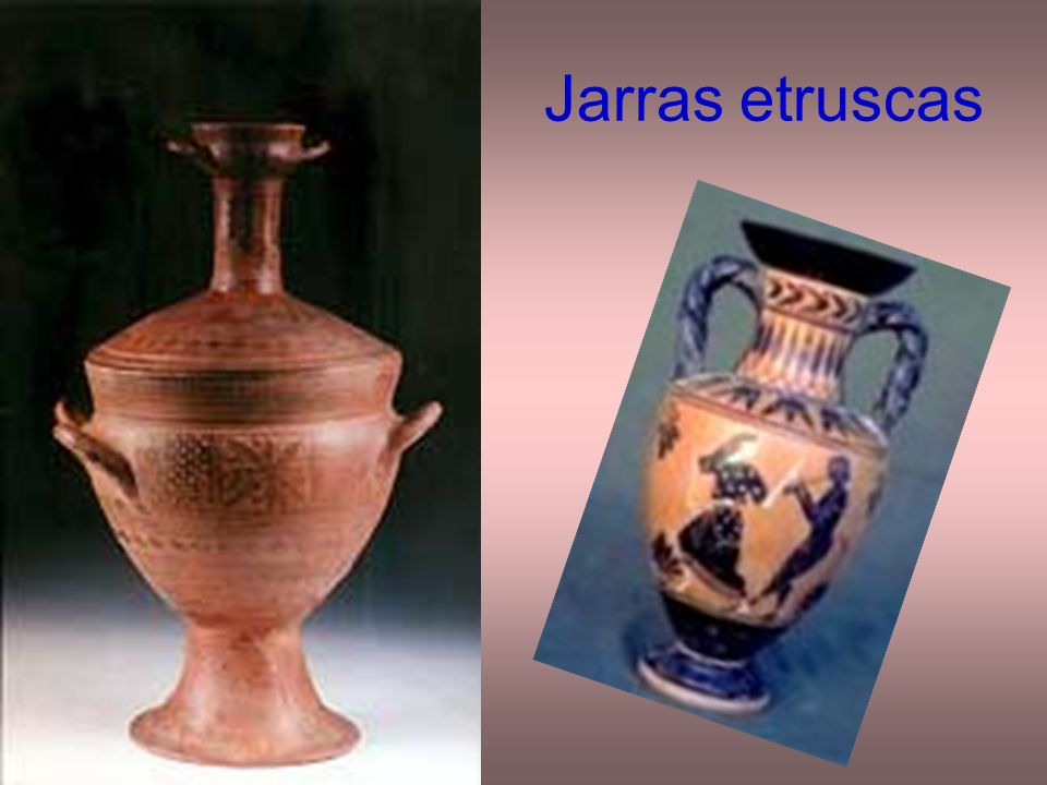 Jarras etruscas