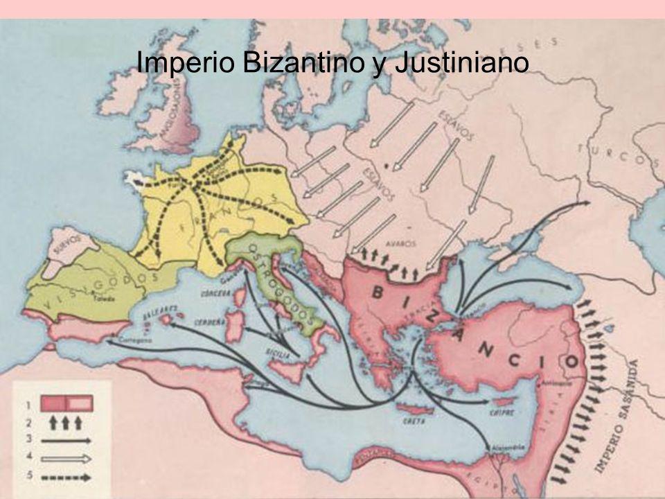 Imperio Bizantino y Justiniano