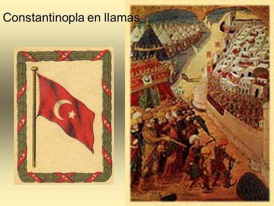 Constantinopla en llamas