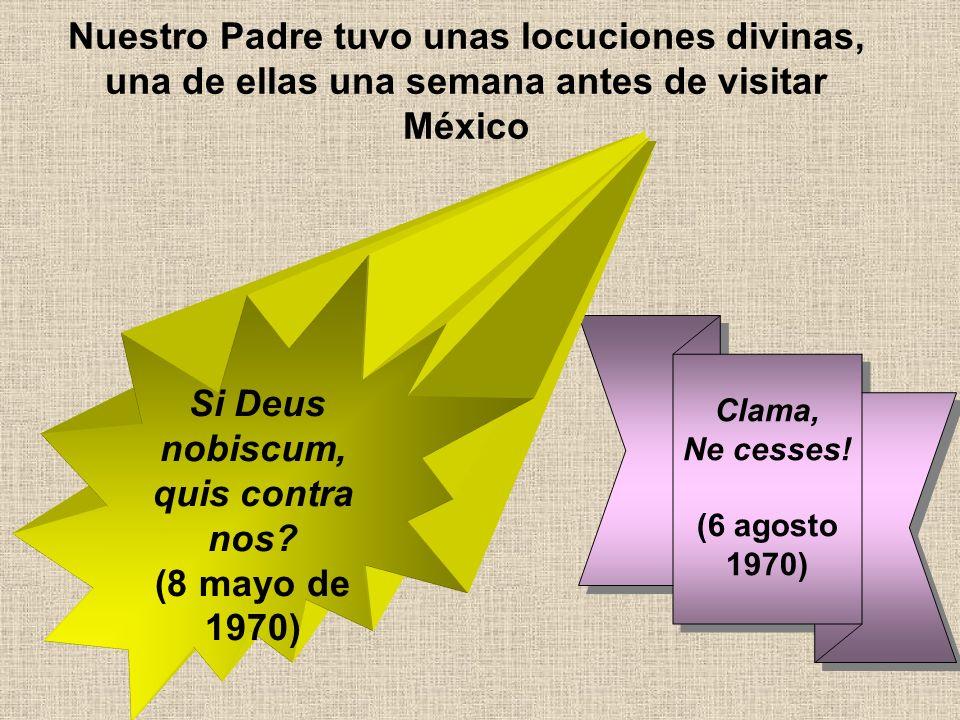Como siempre acude a Nuestra Señora Como siempre acude a Nuestra Señora… Al terminar la Semana Santa de 1970, nuestro Fundador realiza una peregrinación al Pilar, Torreciudad y Fátima.