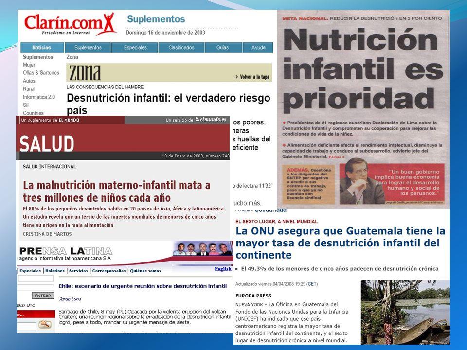 ¿Por qué desnutrición crónica (baja talla).