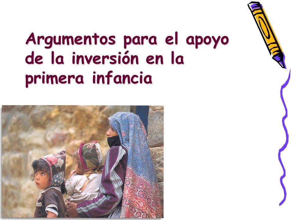 Marco de Acción EPT, Dakar (2000) Cuidado y educación de la primera infancia ampliada.
