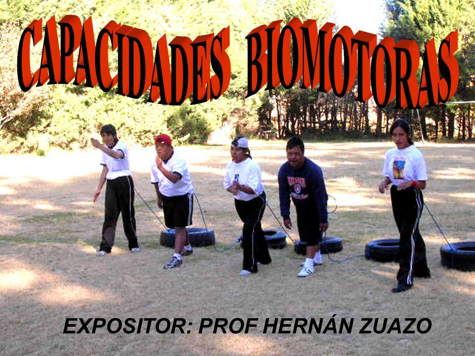 EXPOSITOR:PROF HERNÁN ZUAZO