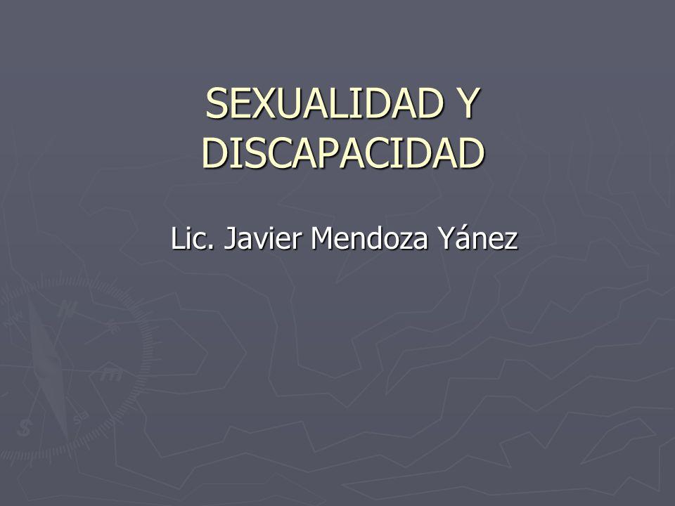 Sexualidad y discapacidad Todo lo que divide a los hombres, todo lo que los especifica, aparta o acorrala, es un pecado contra la humanidad. JOSÉ MARTÍ