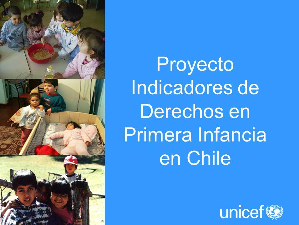 Proyecto Indicadores de Derechos en Primera Infancia en Chile