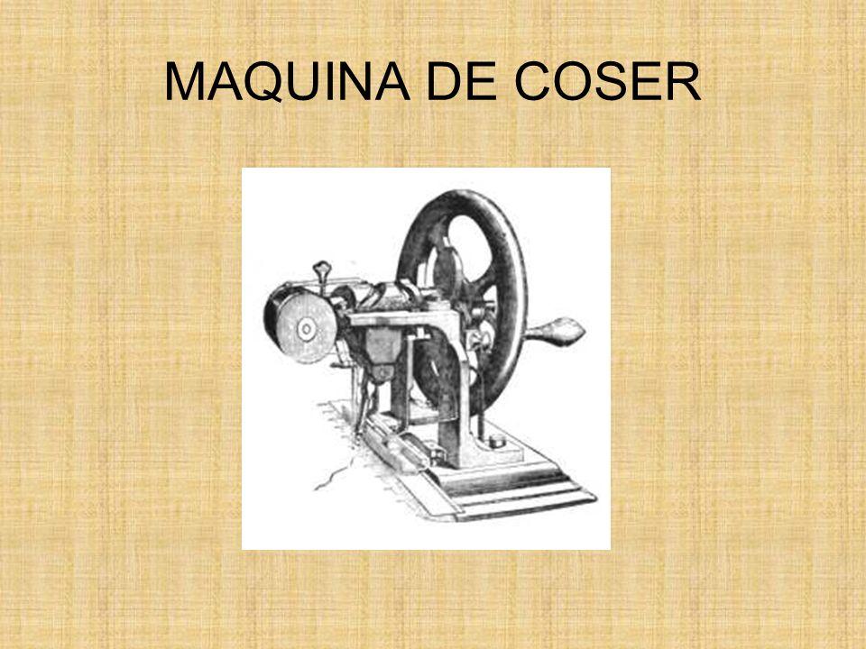 La primera máquina de coser fue patentada en 1790 por el inventor británico Thomas Saint.