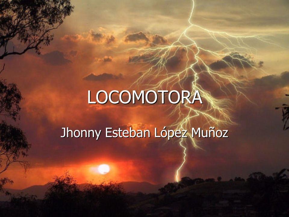 LOCOMOTORA Jhonny Esteban López Muñoz