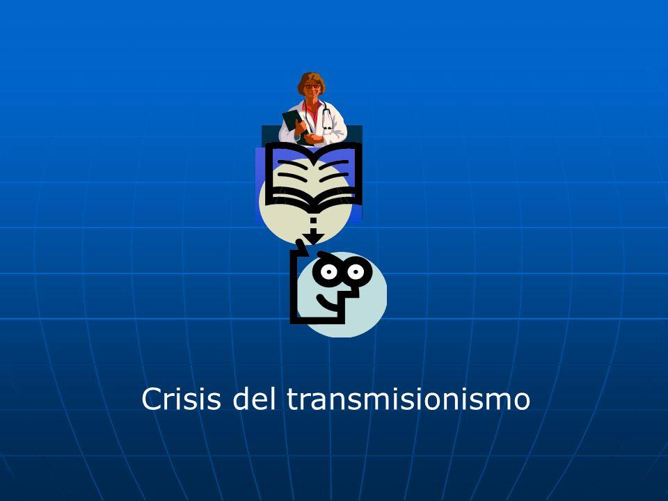 Crisis del transmisionismo