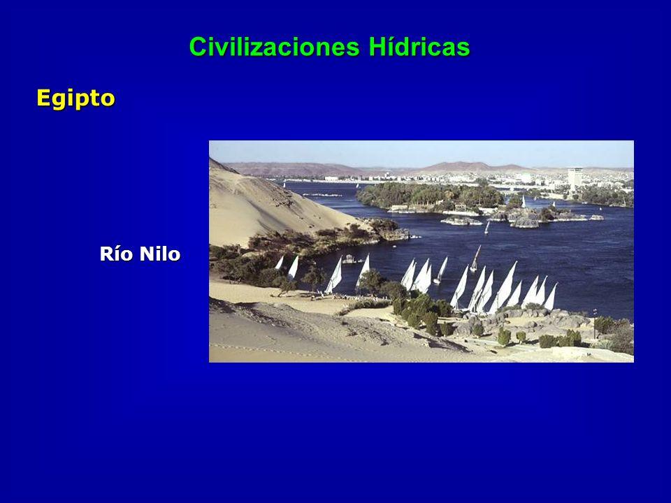 Civilizaciones Hídricas Egipto Río Nilo