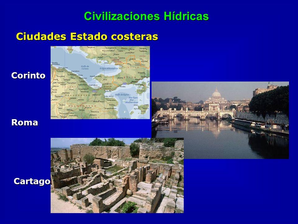 Civilizaciones Hídricas Corinto Roma Cartago