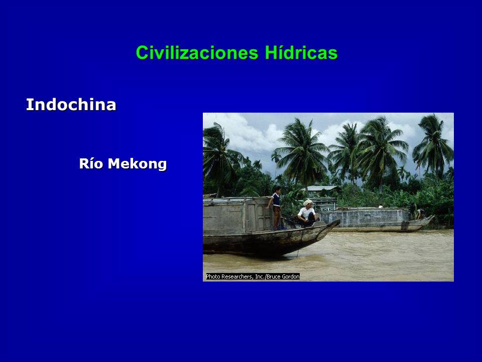 Civilizaciones Hídricas Indochina Río Mekong