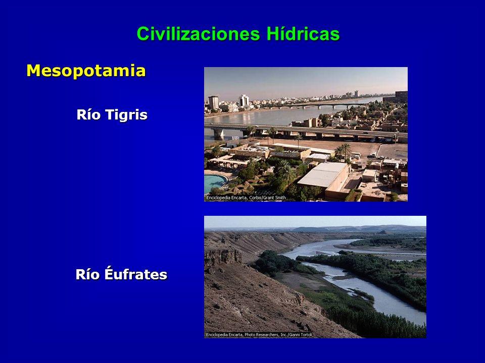Civilizaciones Hídricas Mesopotamia Río Tigris Río Éufrates