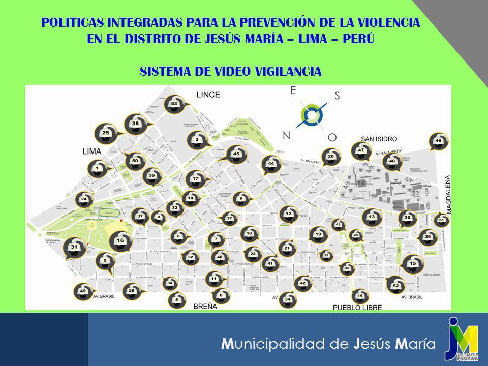M unicipalidad de J esús M aría RECONOCIMIENTOS OBTENIDOS COMO PRODUCTO DE NUESTRAS POLITICAS LOCALES CAPACITACIÓN PARA SERENOS EN JESÚS MARÍA Con el apoyo de la Universidad del Pacífico, la Municipalidad Distrital de Jesús María, Lima, organizó la ESCUELA DE LÍDERES PARA SERENOS, para potenciar su desarrollo personal y mejorar su autoestima, liderazgo y compromiso con el vecino.