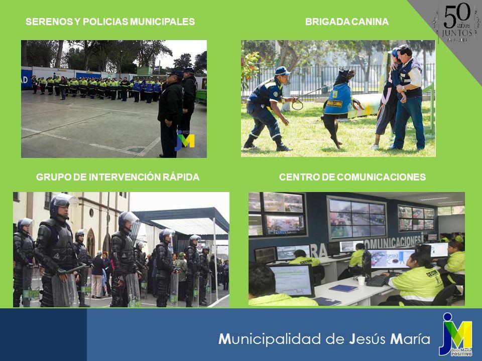 M unicipalidad de J esús M aría El 13 de diciembre de este año, la Municipalidad de Jesús María celebra sus Bodas de Oro de creación política, siendo el Dr.