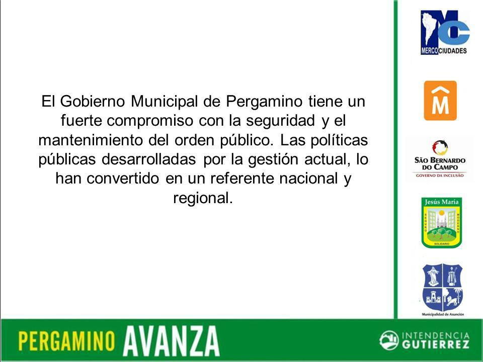 El Gobierno Municipal de Pergamino tiene un fuerte compromiso con la seguridad y el mantenimiento del orden público.