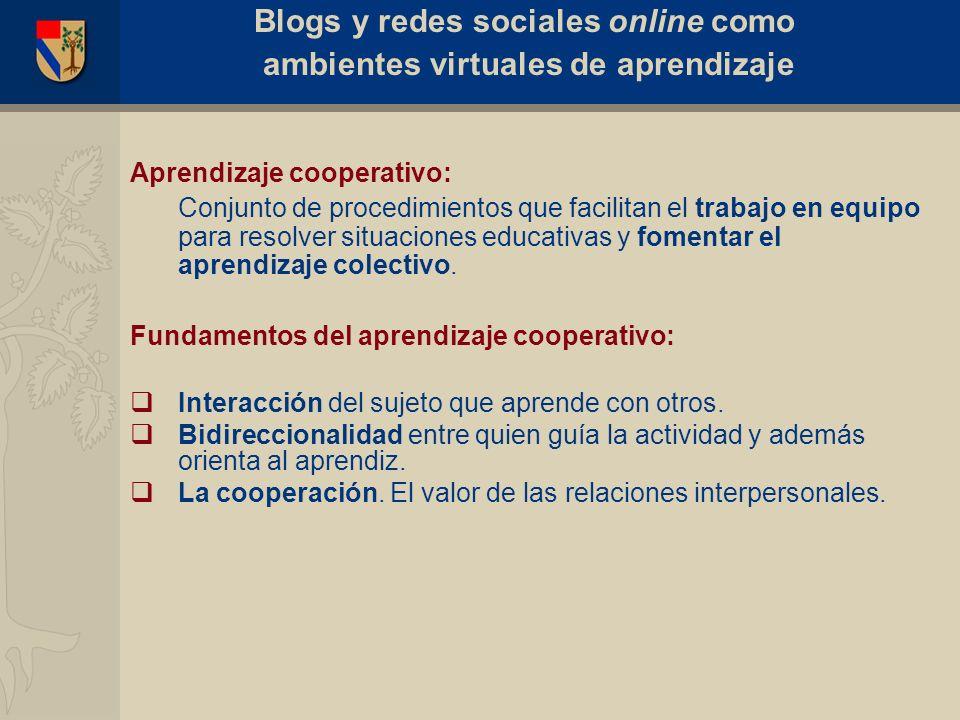 Aprendizaje cooperativo: Conjunto de procedimientos que facilitan el trabajo en equipo para resolver situaciones educativas y fomentar el aprendizaje