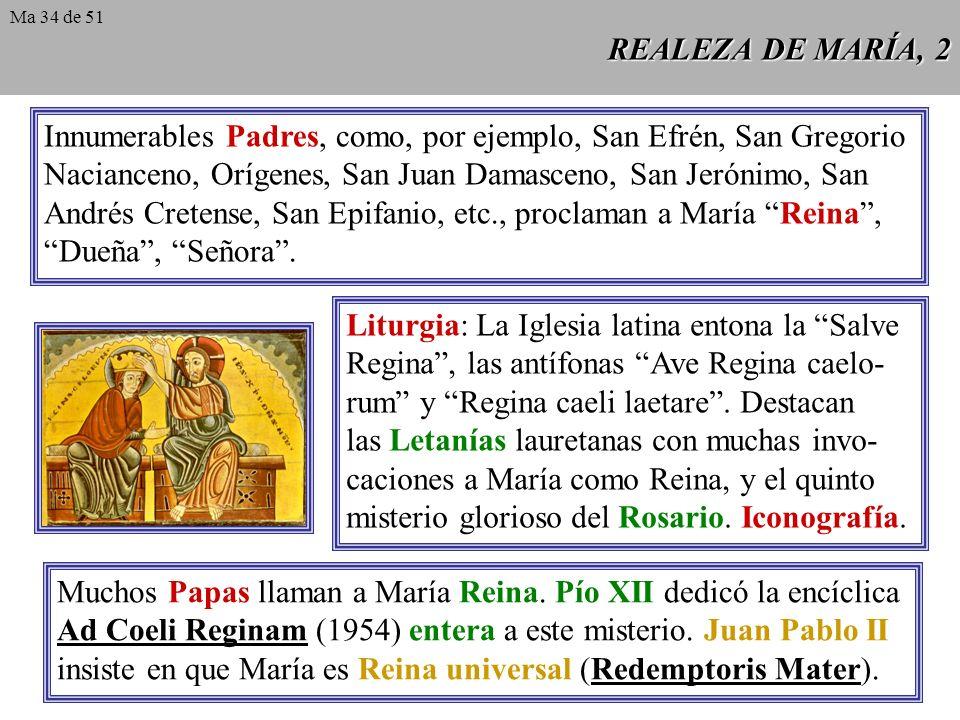 REALEZA DE MARÍA, 1 Lumen gentium 59: La Virgen Inmaculada, preservada inmune de toda mancha de culpa original, terminado el curso de la vida terrena,