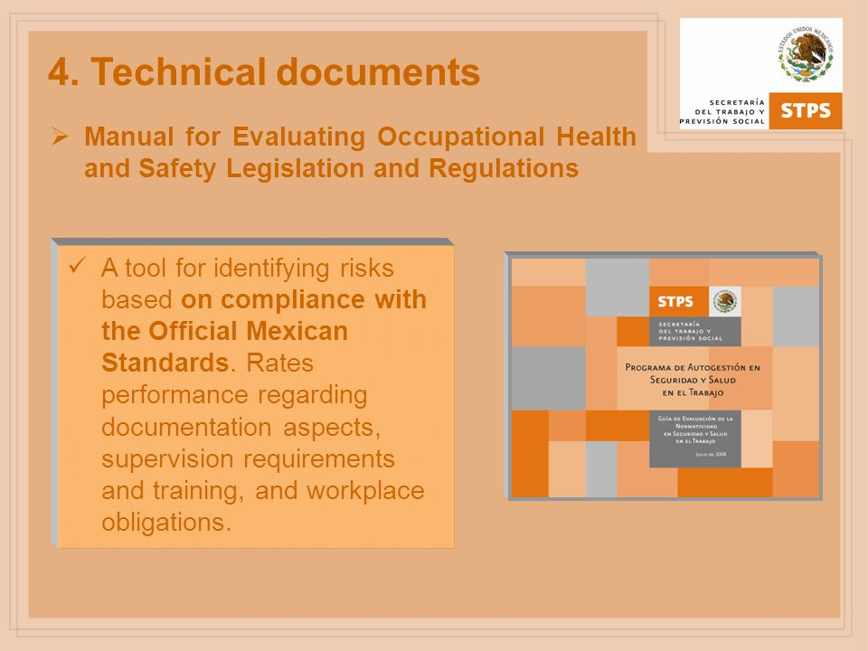 Manual for Evaluating Occupational Health and Safety Management Systems (SASST) Document to measure the effectiveness of the management system based on participation by all staff, improvement mechanisms, and achievements in connection with worker health.