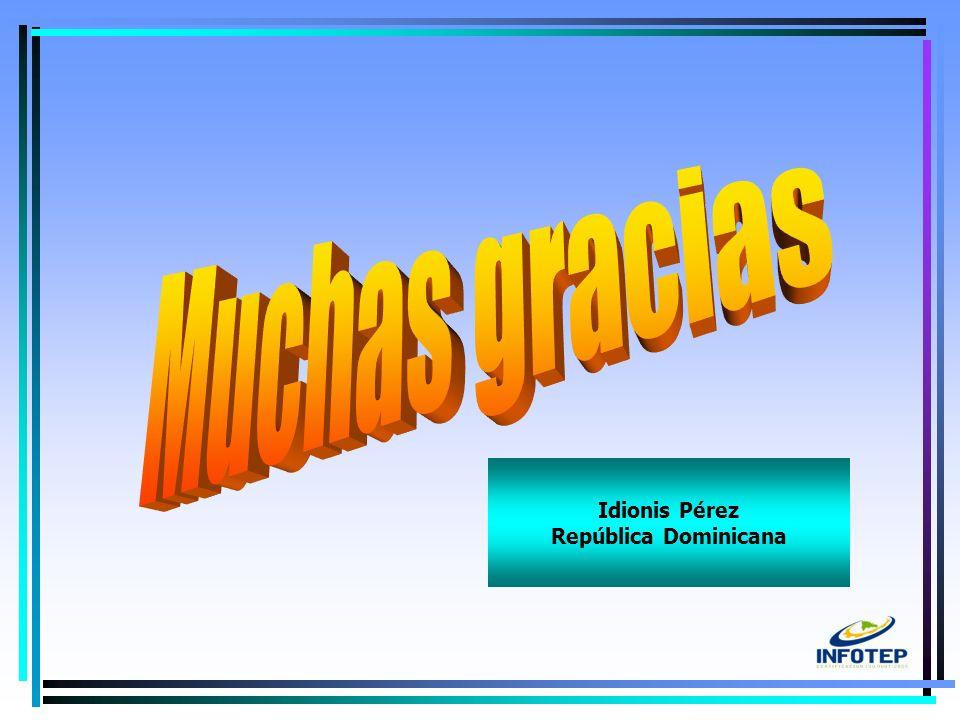 16 Idionis Pérez República Dominicana