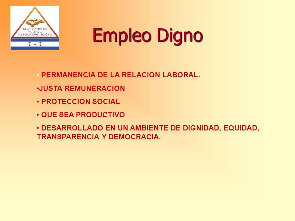 EJES ESTRATÉGICOS DEL PNED EMPLEO DIGNO CRECIMIENTO ECONÓMICO GENERADOR DE EMPLEO E1: Políticas para expansión de empleo E2: Desarrollo tecnológico, capacitación formación profesional para la empleabilidad E3: Desarrollo Empresarial APLICACIÓN EFECTIVA DE LOS PDFT Eficiencia y Equidad en el Mercado de Trabajo E4: Instituciones y Políticas de mercado de trabajo E5: Protección Social E6: Diálogo Social