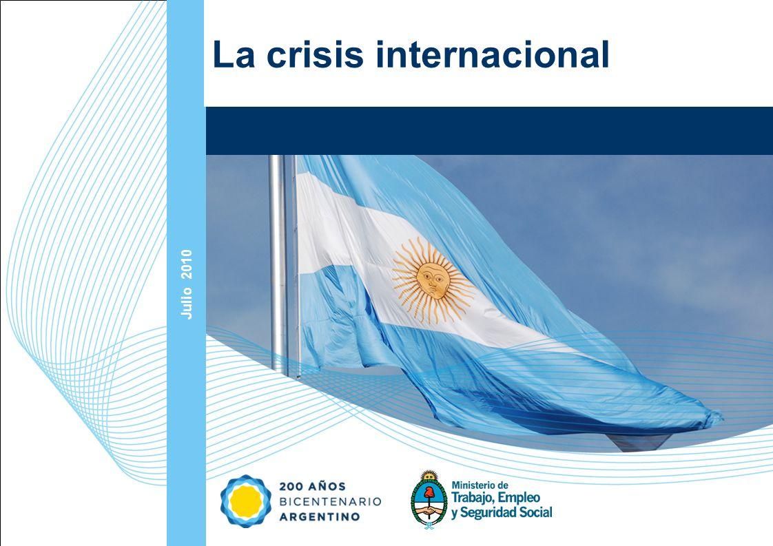 Ampliación del Sistema de Protección Social en Argentina - Período 2003-2010 10 La magnitud de la crisis La crisis tiene el mayor alcance conocido desde 1930 El desempleo mundial creció en 11 millones el año pasado y podrían perderse alrededor de 40 millones más de puestos de trabajo para el final de 2009 Sólo en EEUU durante enero 2009 se perdieron 650.000 puestos de trabajo, aumentando su tasa de desempleo del 7,6 al 8,1% FMI estimó recientemente (julio10) que la caída del producto mundial del año 2009 fue de 0,6% (-3,2% en los PD y +2,5% en los PED).