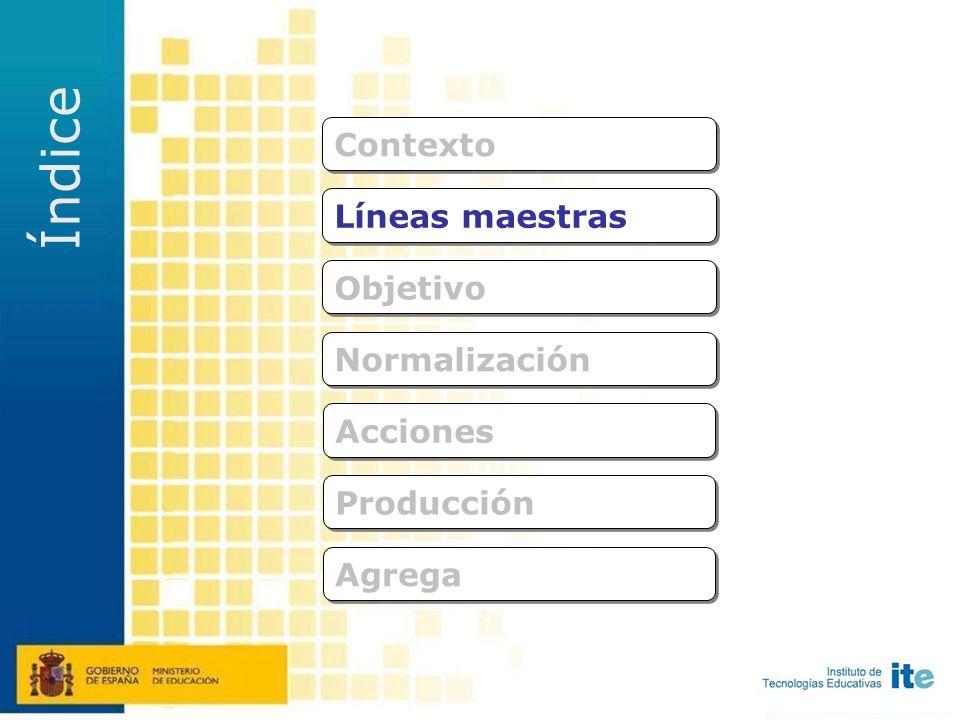 colaboración Se definen entre todos las características de la plataforma que va contener el repositorio de recursos Acciones