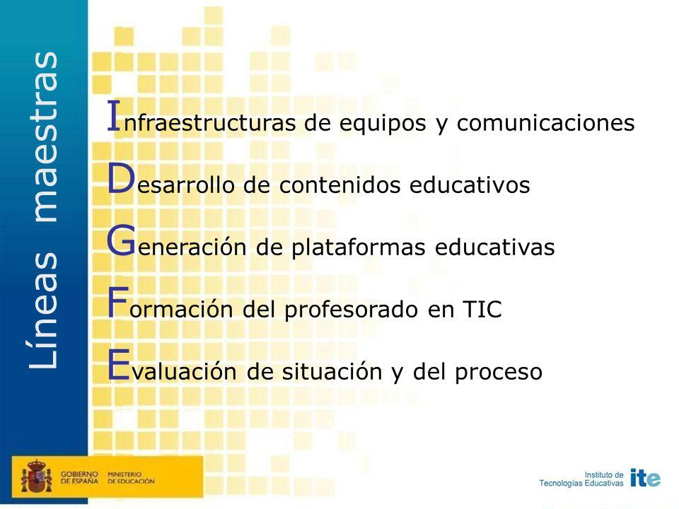 Diseñar AGREGA AGREGA Repositorio múltiple federado con un nodo en cada una de las administraciones educativas Producción