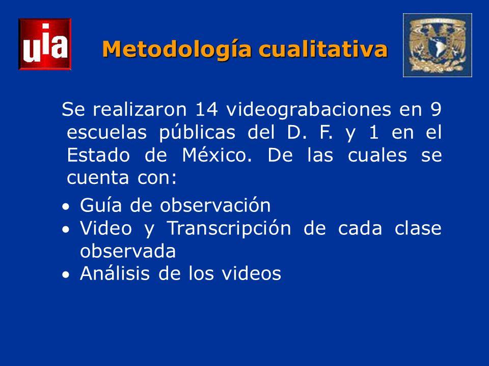 Se realizaron 14 videograbaciones en 9 escuelas públicas del D.