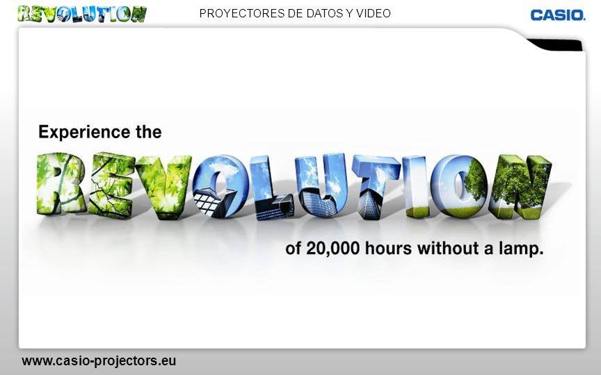PROYECTORES DE DATOS Y VIDEO www.casio-projectors.eu