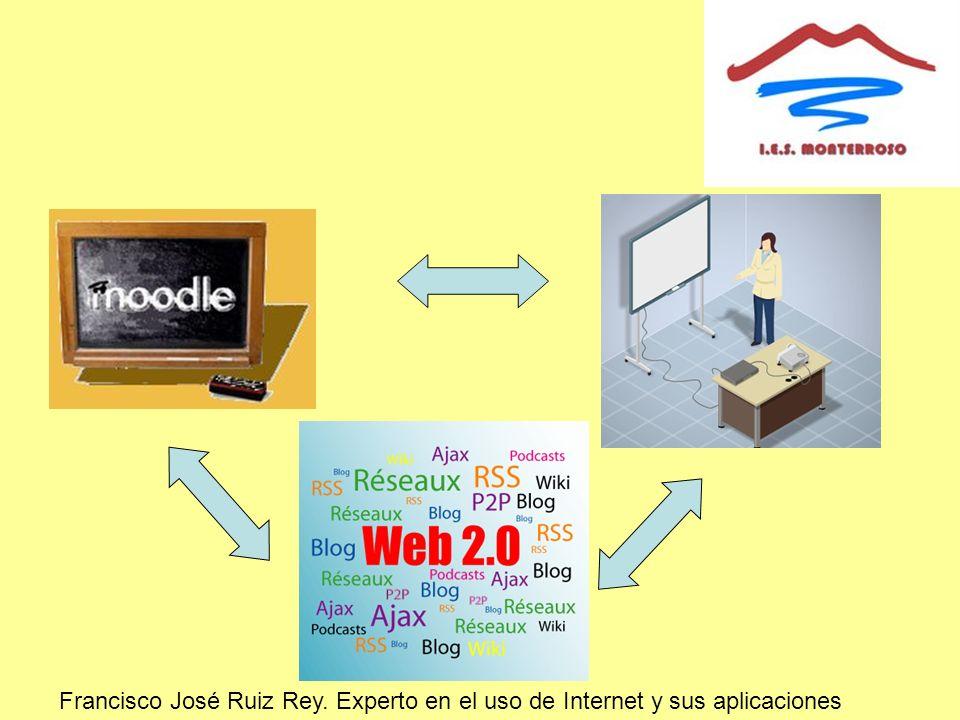 Francisco José Ruiz Rey. Experto en el uso de Internet y sus aplicaciones