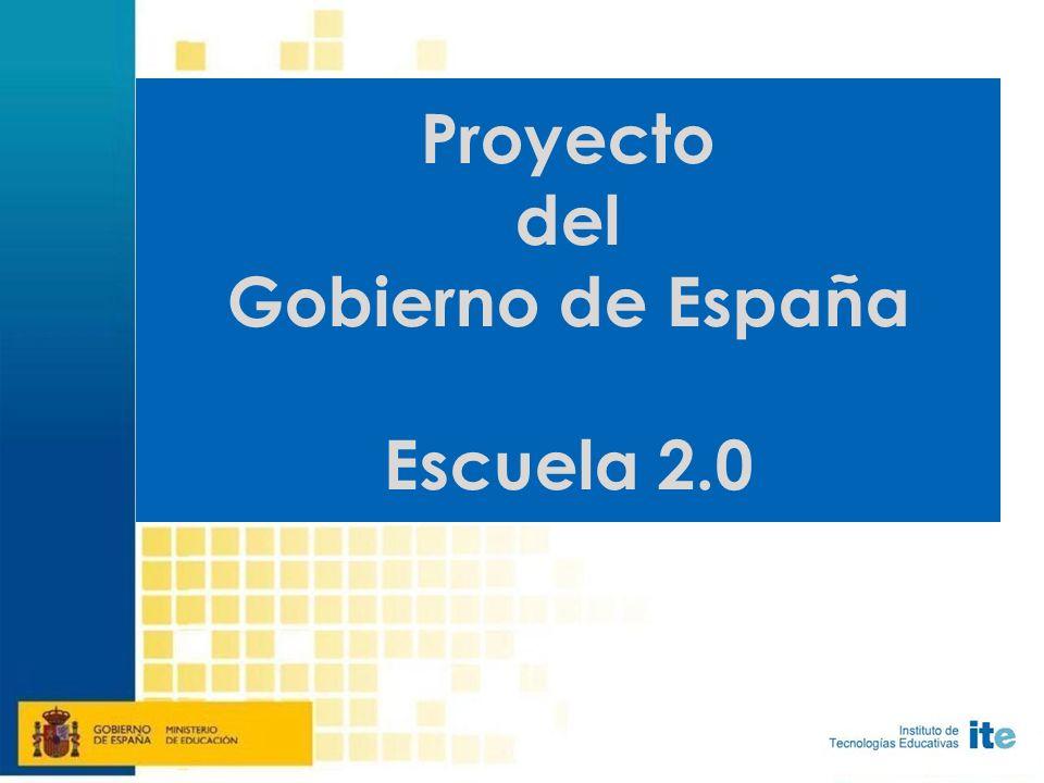 Proyecto del Gobierno de España Escuela 2.0
