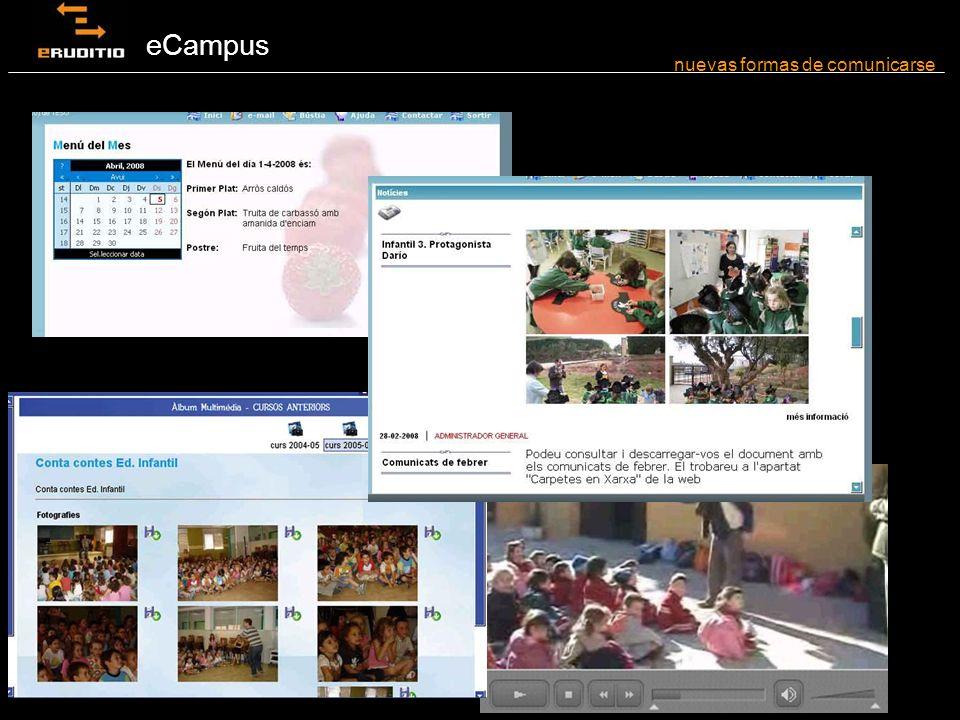 eCampus nuevas formas de comunicarse