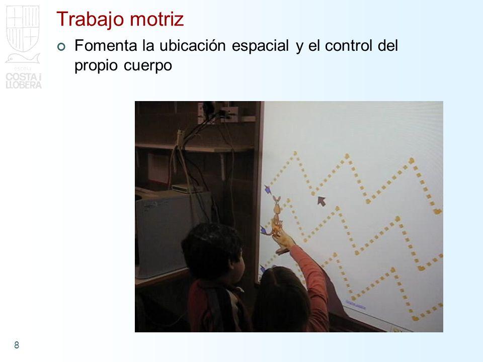 9 Cooperación Compartir visualmente el proceso de trabajo Ritmo marcado por los alumnos