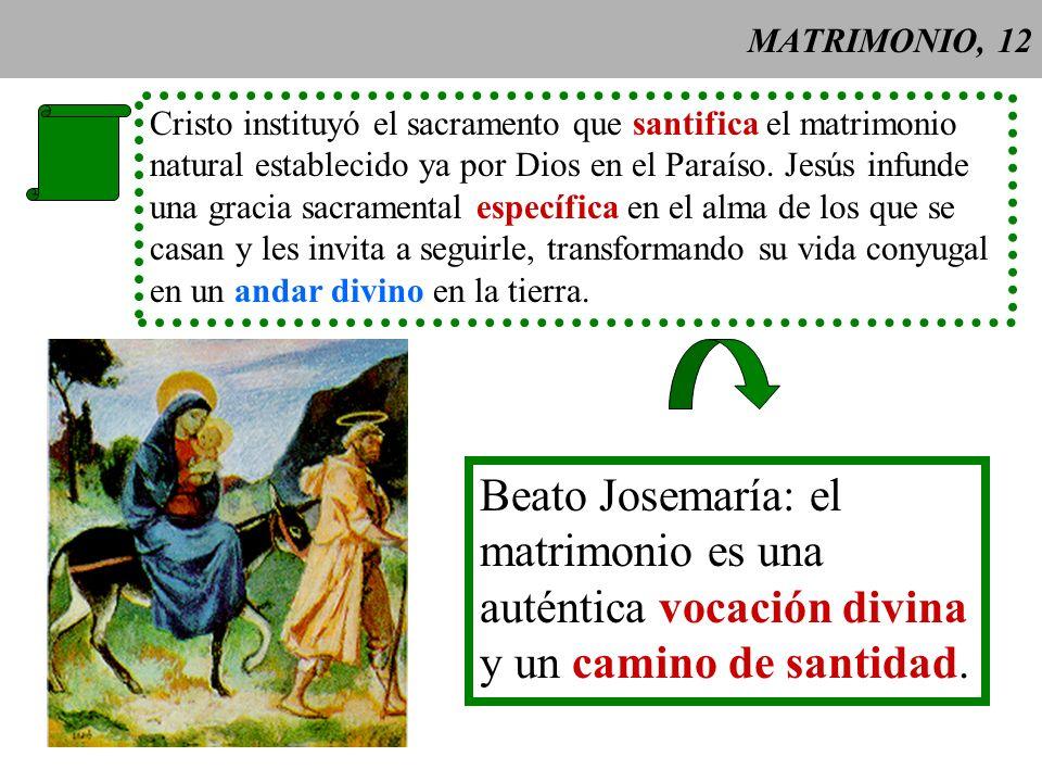 MATRIMONIO, 13 Sujeto capaz del matrimonio = cualquier bautizado que no tenga ningún impedimento.