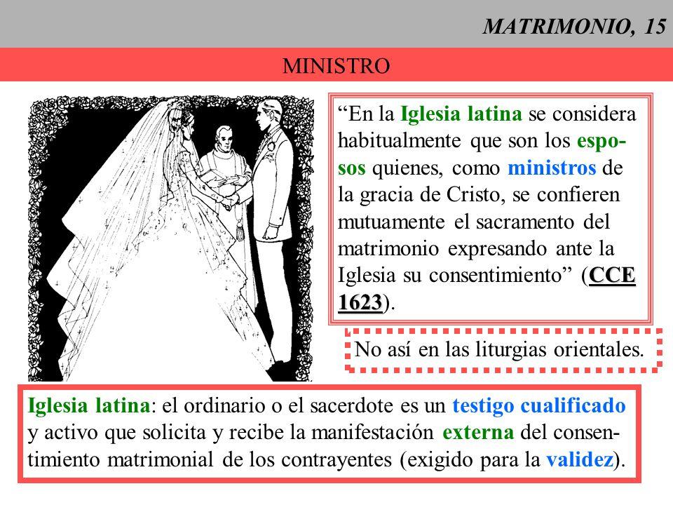 MATRIMONIO, 16 CELEBRACION, 1 Normalmente se celebra dentro de la Misa (Ritual): 1.